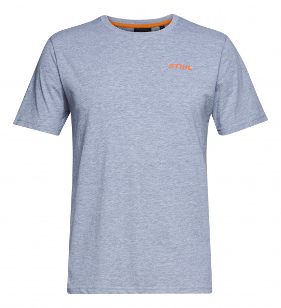 STIHL T-Shirt LOGO-CIRCLE grau