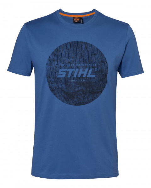 STIHL T-Shirt WOOD CIRCLE - Blau