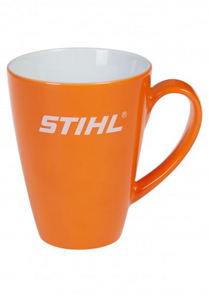 STIHL Tasse Porzellan orange