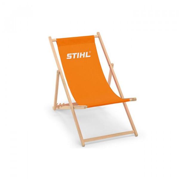 STIHL Holzliegestuhl orange