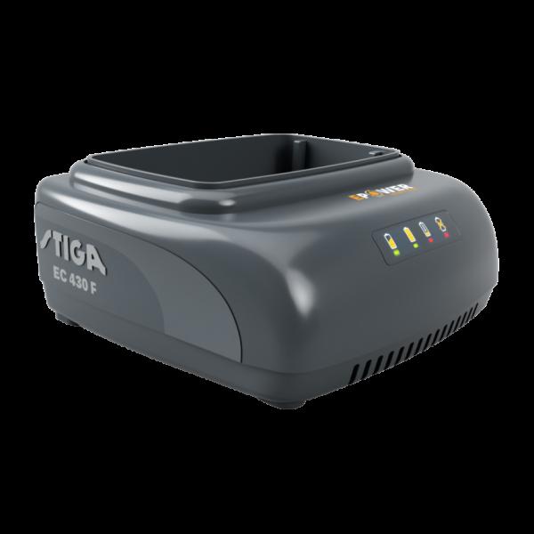 STIGA Schnellladegerät für Akkus EC 430 F