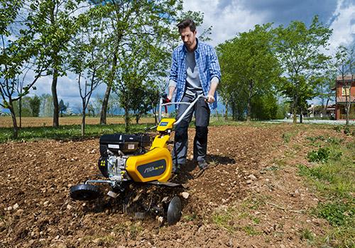Motorhacken und Bodenfräsen