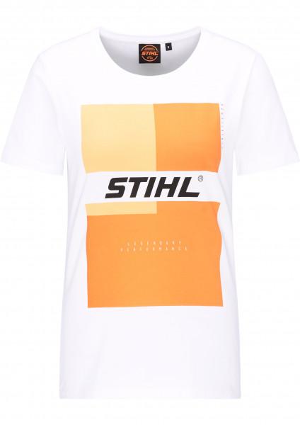 STIHL T-Shirt Urban Damen weiß